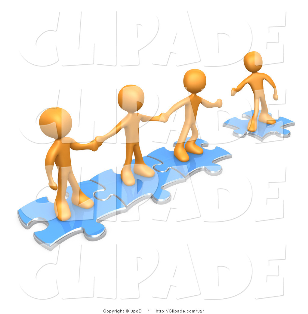 1024x1044 Clip Art Of A Team Of Three Orange People Holding Hands