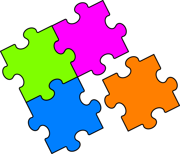 600x515 The Top 5 Best Blogs On Puzzle Pieces Vector Clipart