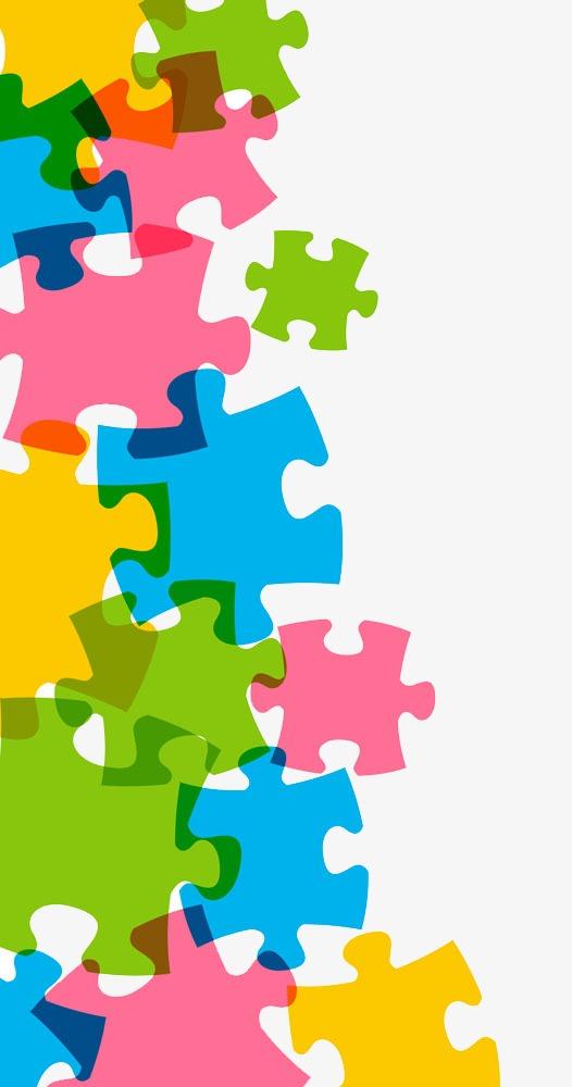 526x1000 Unusual Inspiration Ideas Puzzle Pieces Clipart Color Png Image