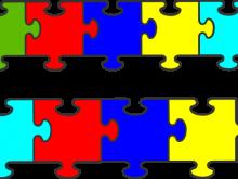 220x165 Autism Puzzle Piece Clip Art Printable Puzzle Pieces Template
