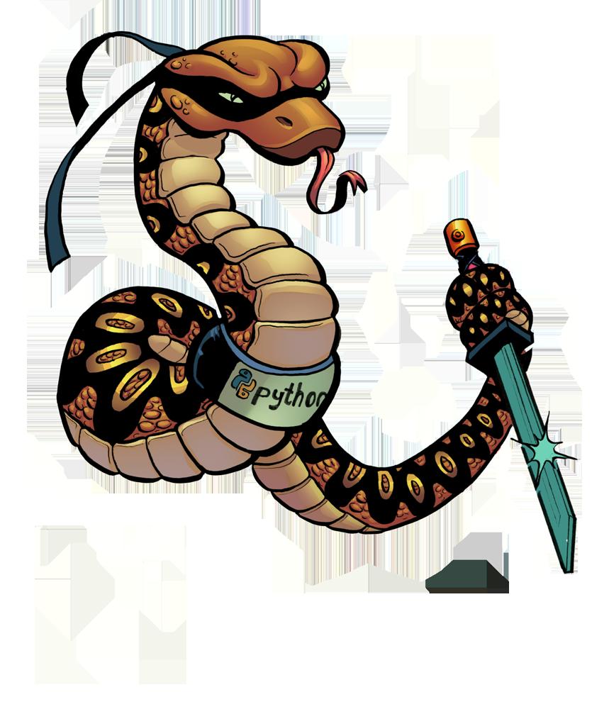 859x1000 Python Ninja By Plaidklaus