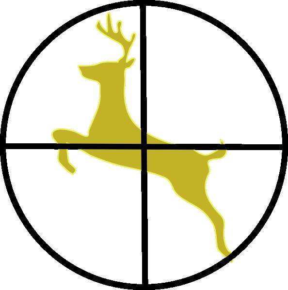 594x599 Hunting Cross Hairs Clip Art