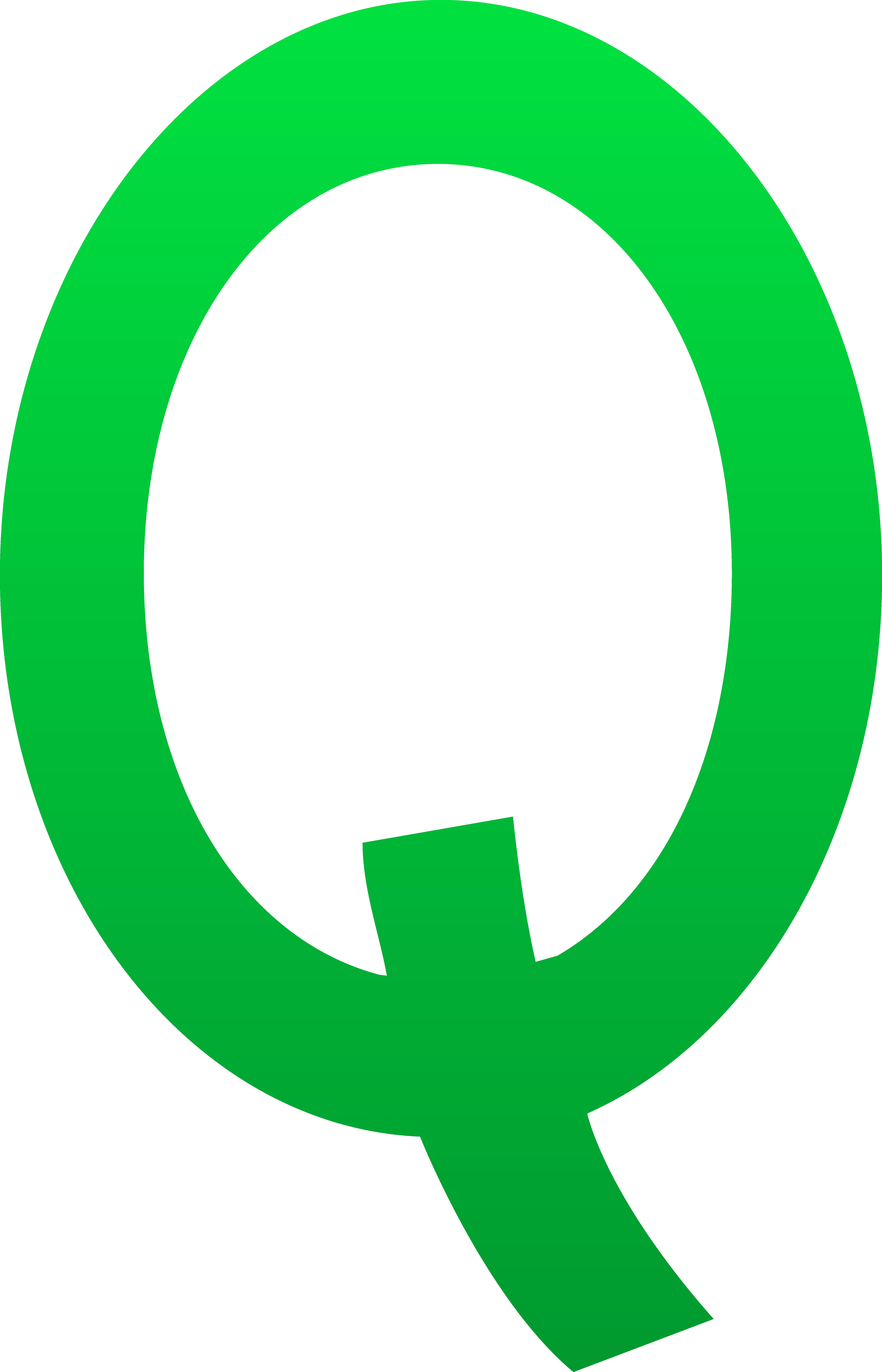 5548x8630 Letter Q Clip Art