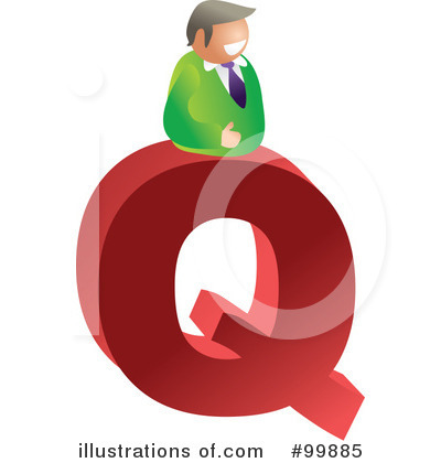 400x420 Letter Q Clipart