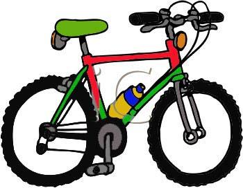 350x272 Clip Art Of Bike 101 Clip Art