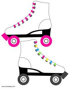 236x305 Neon Clipart Roller Skate 3738674