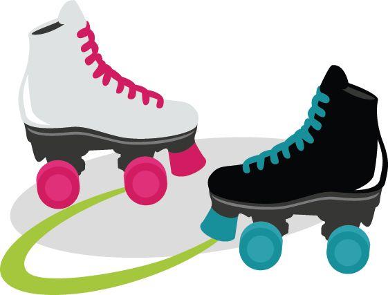 561x427 Skates Clipart