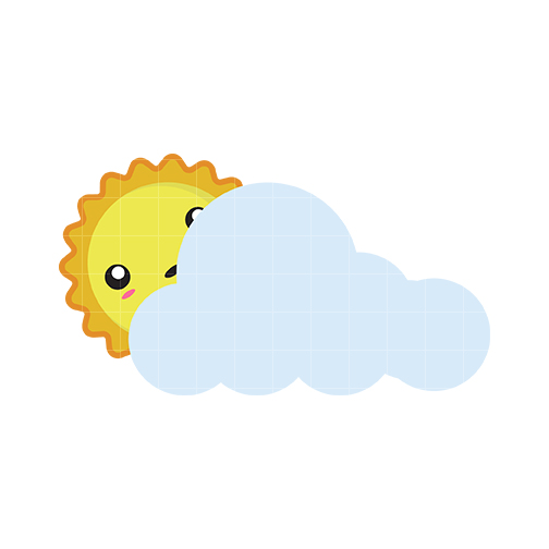 504x504 Partly Cloudy Weather Clipart Cliparts And Others Art Inspiration