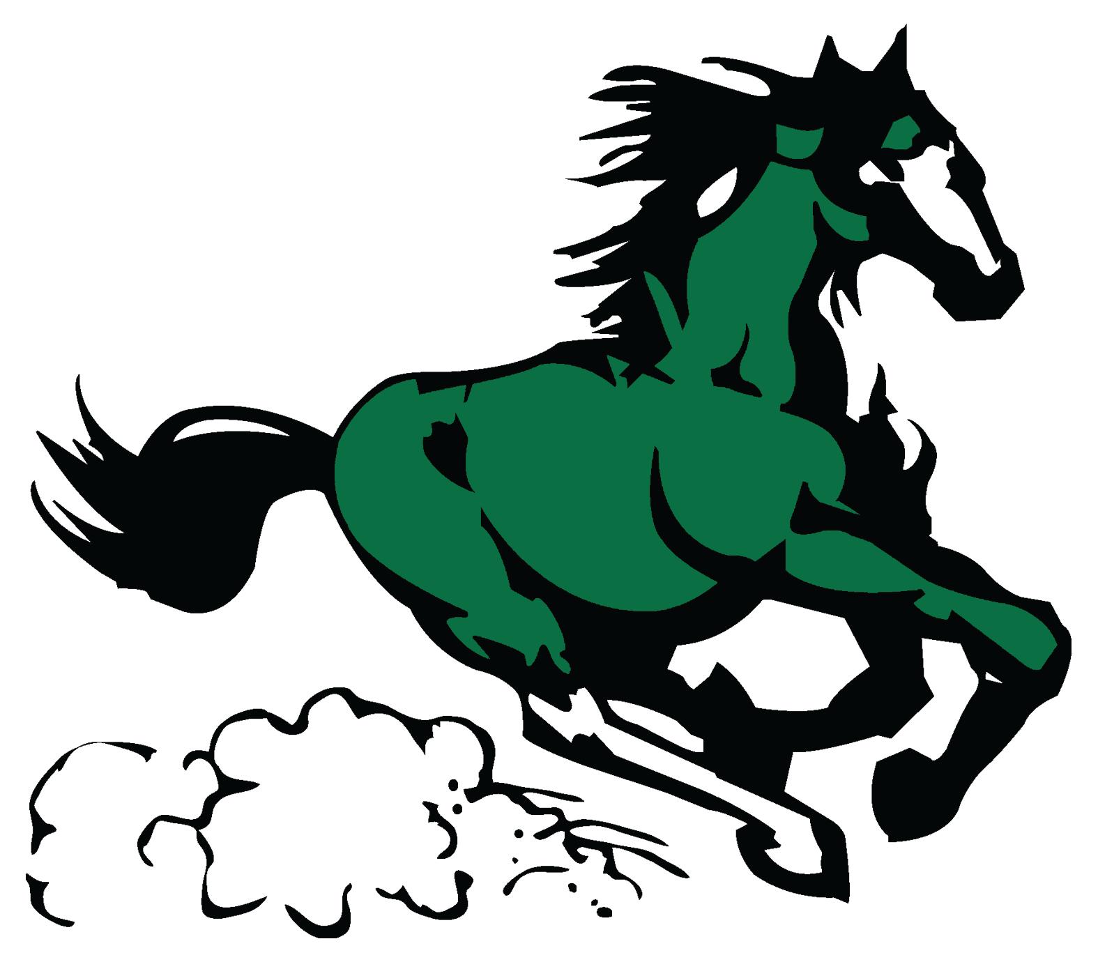 1575x1380 Horse Head In A Circle Clip Art