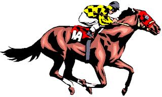 320x192 Horse Racing Clip Art Borders