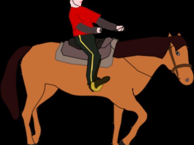 640x480 Horse Riding Clipart