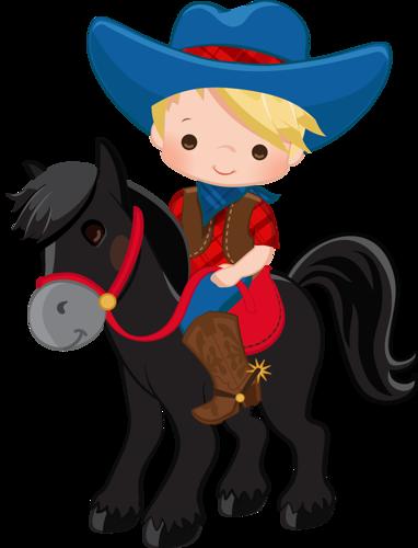 382x500 Horse Riding Clipart Cowboy Kid