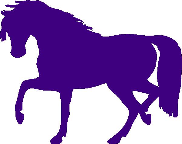600x477 Purple Horse Purple Horse Clip Art