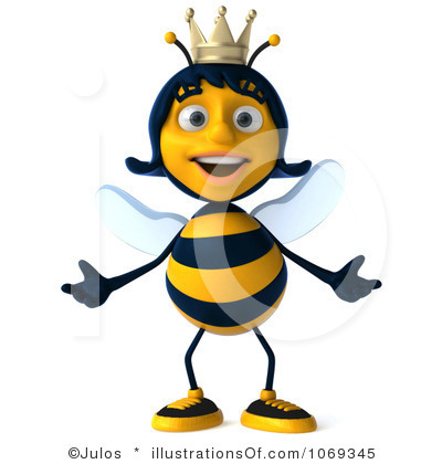 400x420 Clip Art Queen Bee Clipart