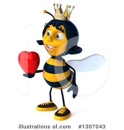 400x420 Queen Bee Clipart