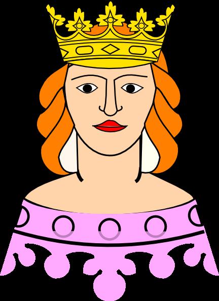 432x594 Queen Cliparts