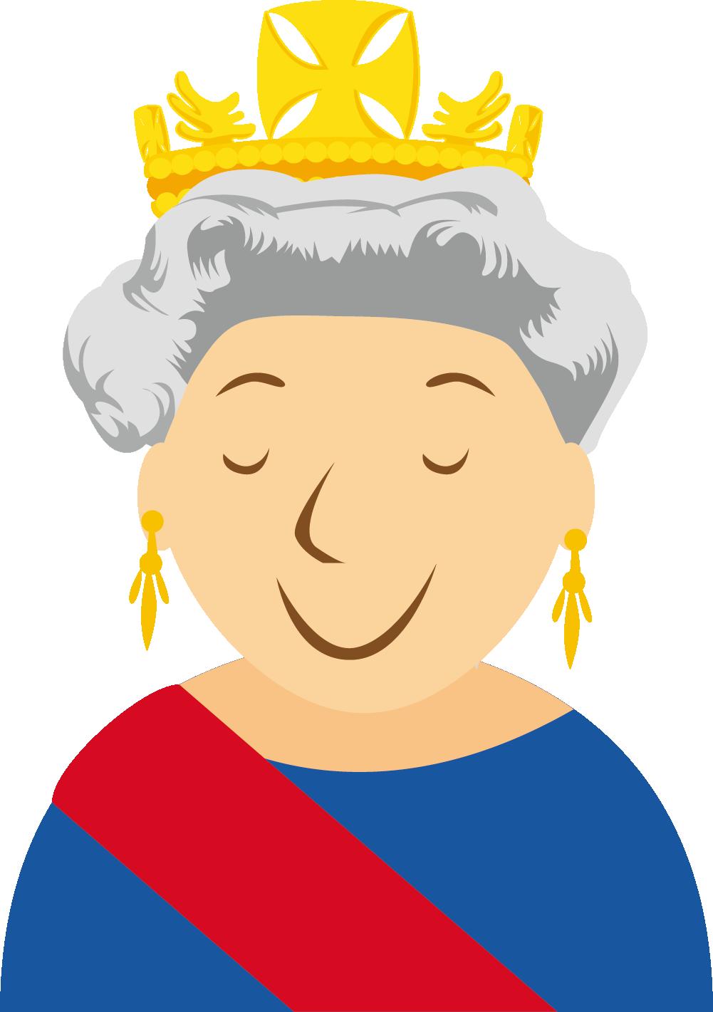 1001x1421 Queen Elizabeth Ii Clipart
