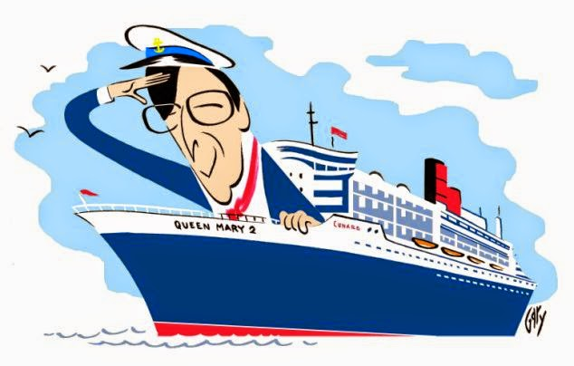 634x404 Queen Mary 2 Clipart
