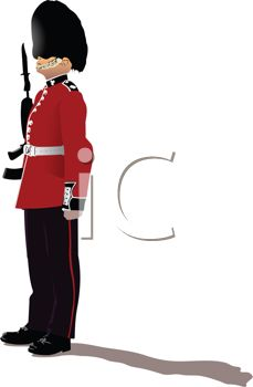 229x350 Royal Guards Clipart Queen England