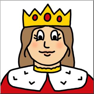 304x304 Cartoon Queen