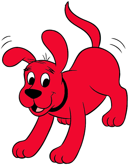 441x560 Clifford The Big Red Dog Cliparts