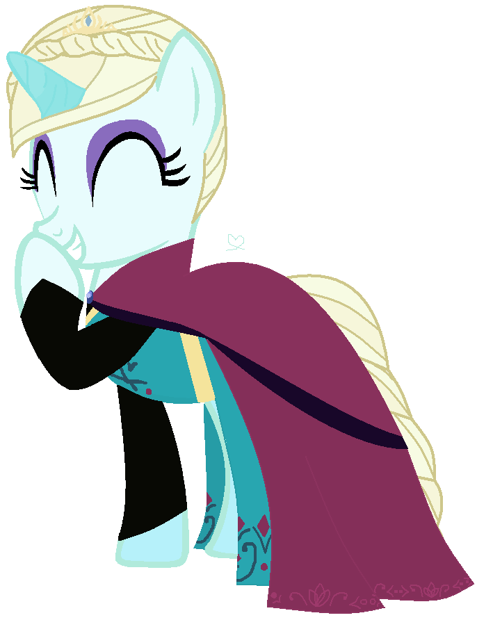 686x892 Queen Elsa Chocolate Giggle With Clothes By Ayenamie
