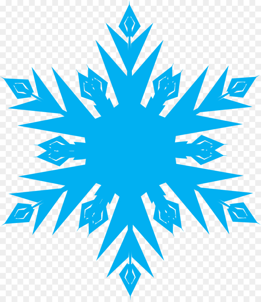 900x1040 Elsa Snowflake Light Clip Art