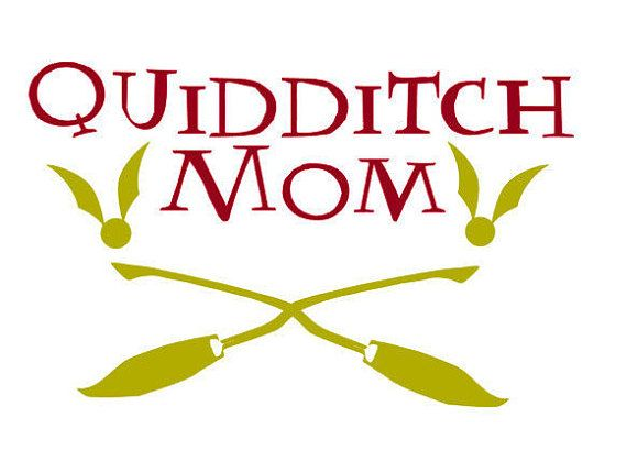 570x429 Quidditch Mom Harry Potter Vinyl Decal Sports Mom By Personily