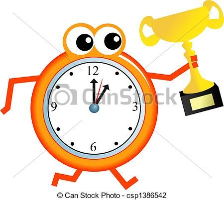450x402 Beautiful Time Clock Clipart
