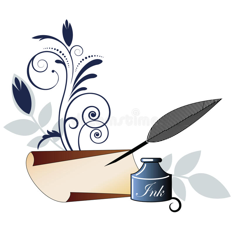 800x800 Collection Of Paper And Quill Clipart High Quality, Free