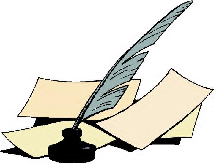 720x553 Quill Clipart Mark
