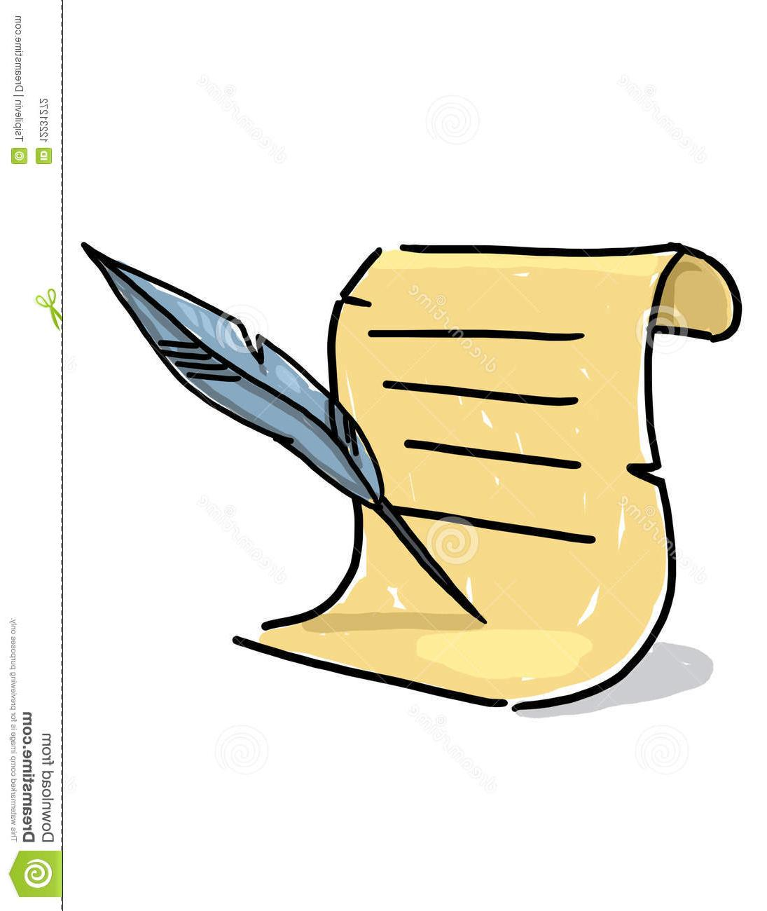 1095x1300 Collection Of Quill Drawing Clipart High Quality, Free