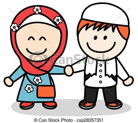 450x401 Muslim Kids Vector Clip Art Eps Images. 1,121 Muslim Kids Clipart