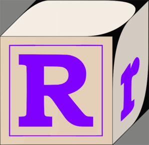 298x291 Letter R Clip Art