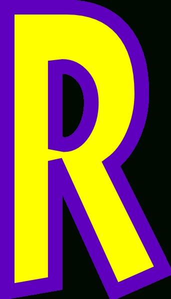 342x597 Letter R Clipart