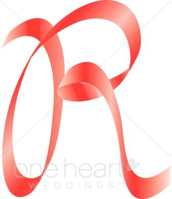 336x388 Letter R Clipart Pink Ribbon Alphabet