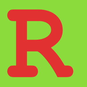 300x300 Letter R In Green Background Clip Art