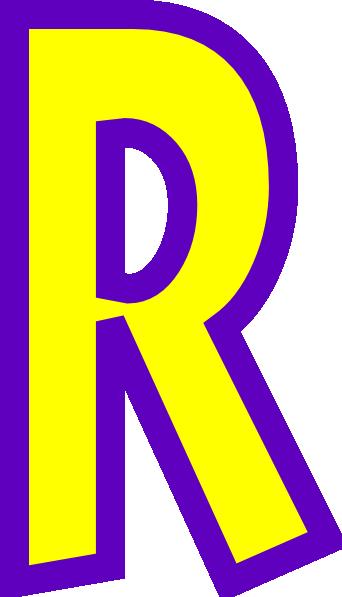 342x597 Letter R Clip Art