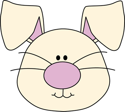 400x360 Bunny Clip Art