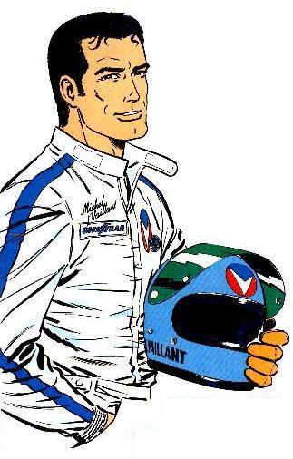 323x506 Cartoon Race Car Driver