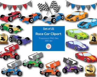 340x270 Race Car Art Etsy