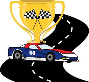 300x277 Racer Clipart Racing Car