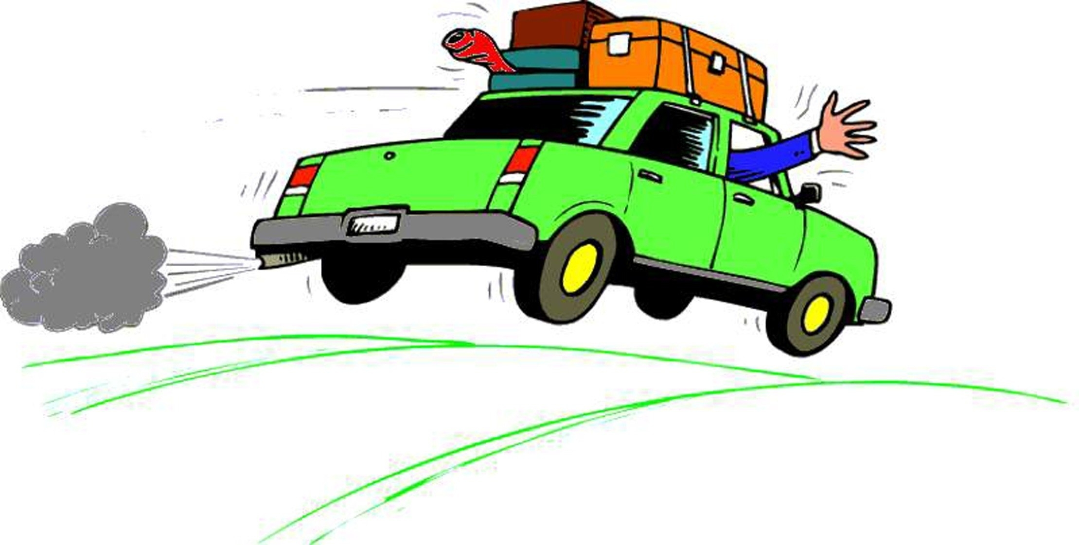 2219x1122 Car Driving Away Clip Art