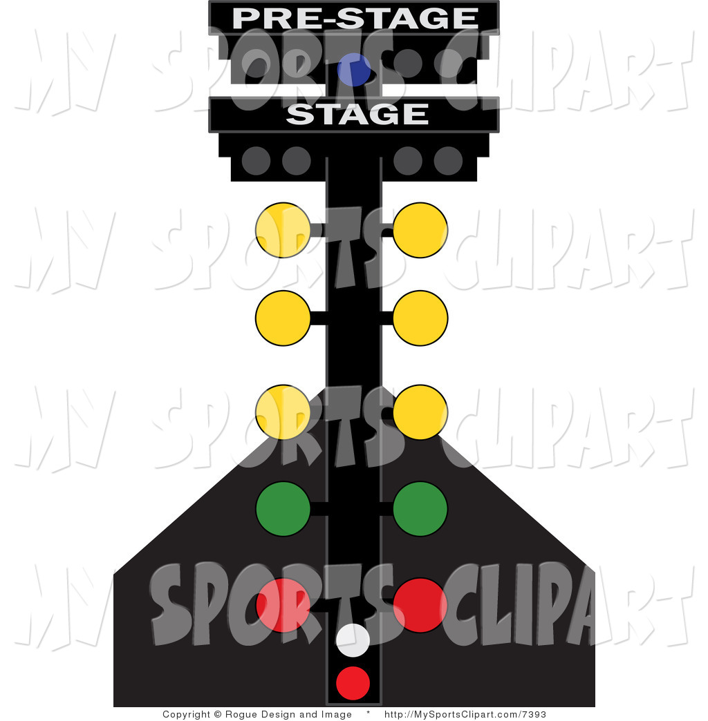 1024x1044 Sports Clip Art Of A Racing Lights By Pams Clipart