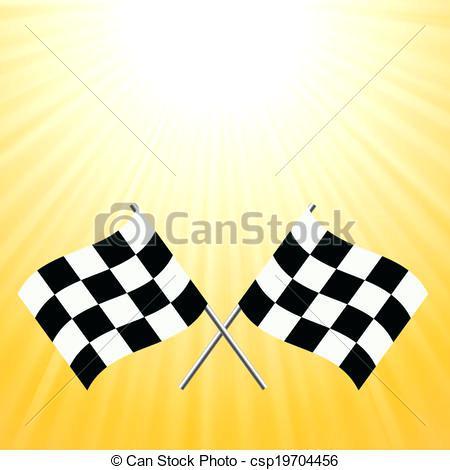 450x470 Checkered Flags Clip Art Crossed Checkered Flags Fashion Car