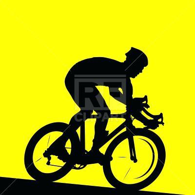 400x400 Cyclist Clip Art Racing Cyclist Download Royalty Free Vector