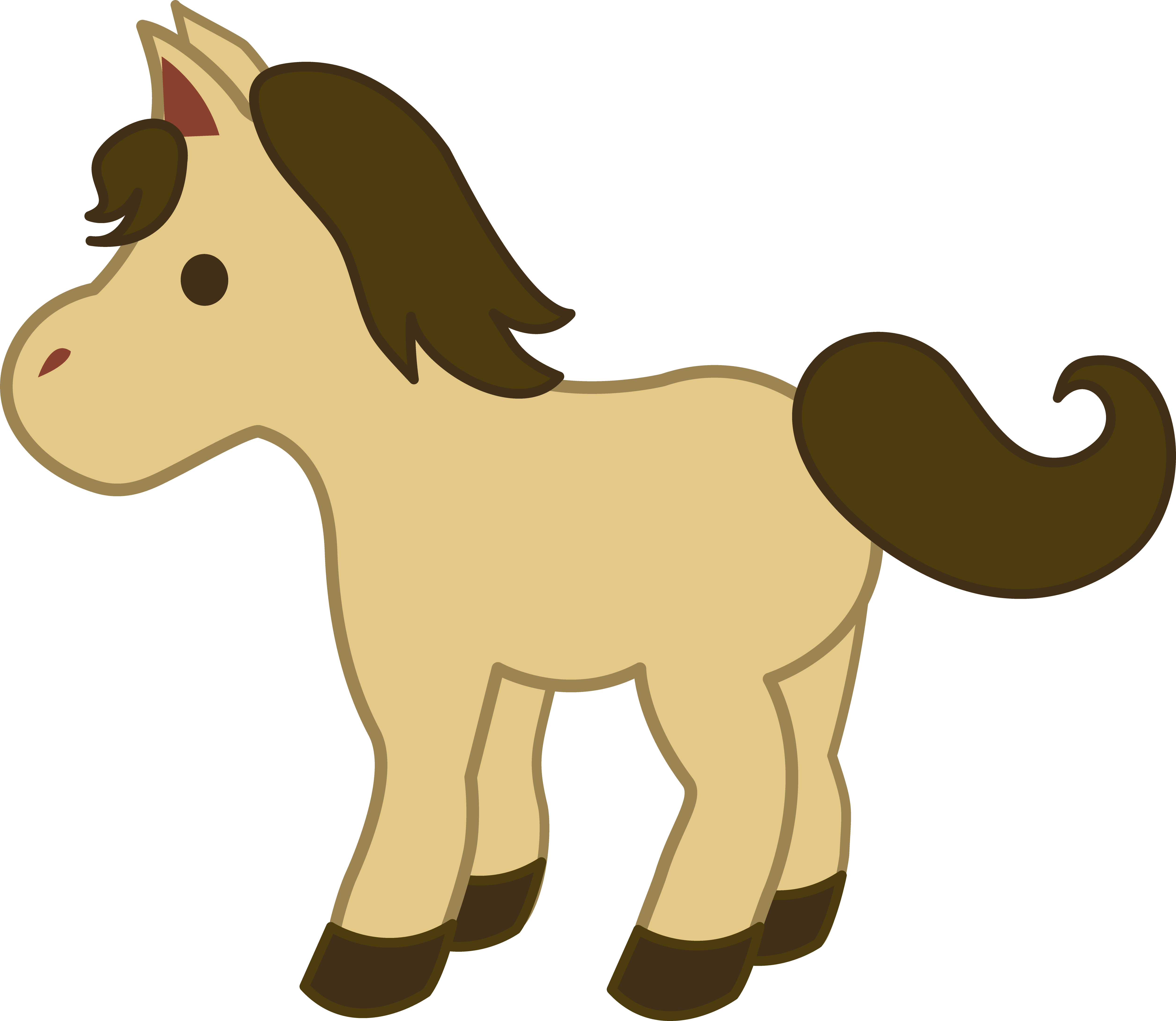 5024x4362 Horse Free Clip Art Clipart Collection