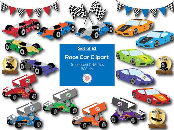 570x428 Race Cars, Clipart, Clip Art, Digital Elements, Racing Clipart