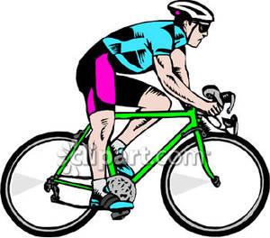 300x264 Racing Bicycle Clip Art