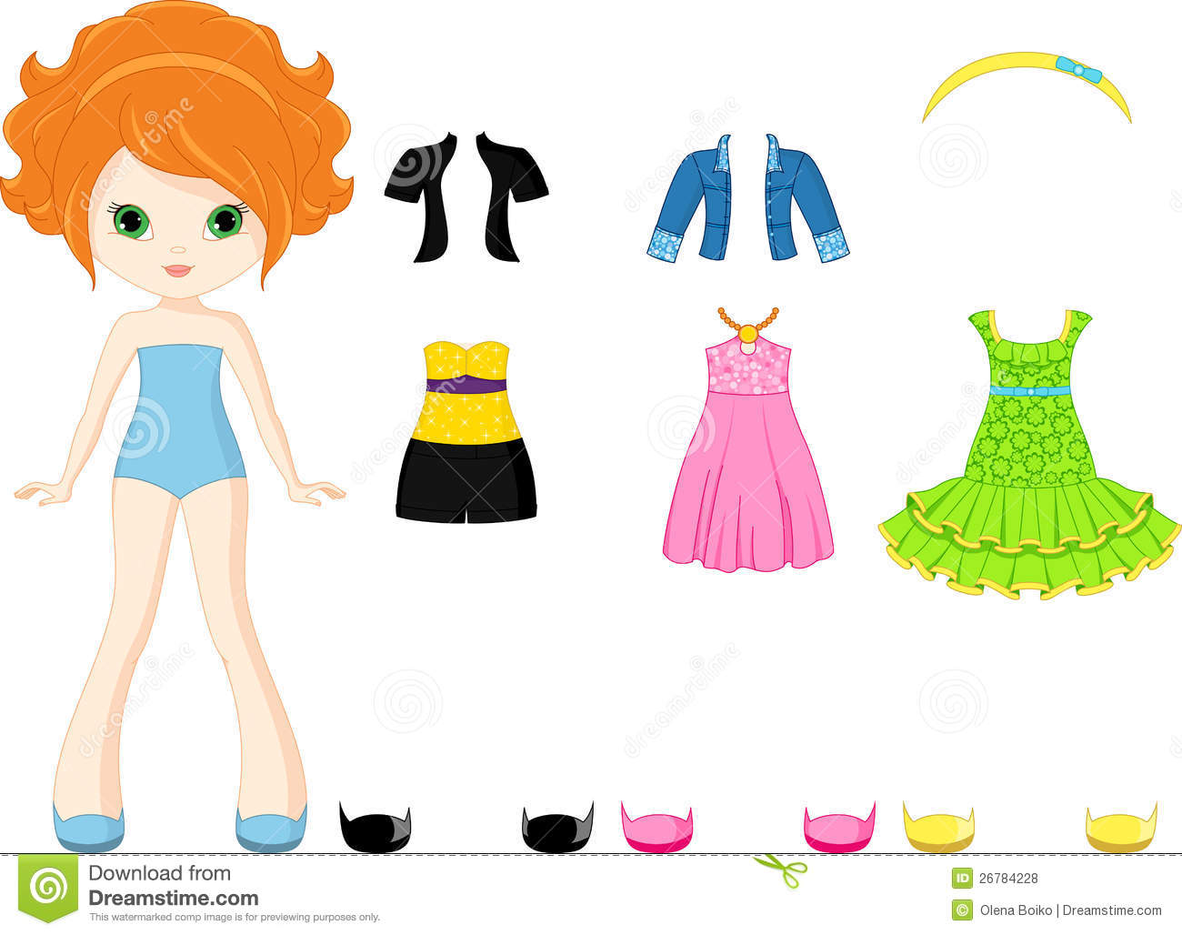 1300x1028 Paper Doll Clipart